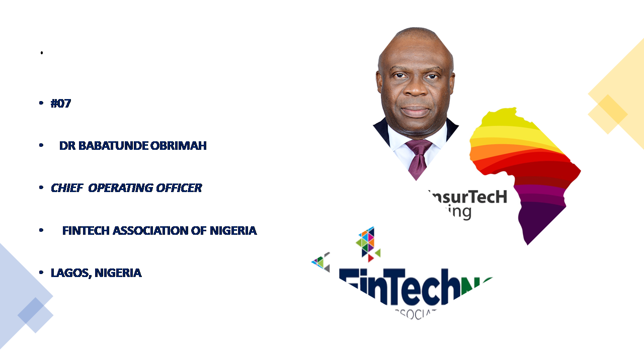 UNDERSTANDING THE NIGERIAN FINTECH-SPACE- By Dr Obrimah